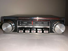 Vintage Radiomobile Classic Car Radio Model 1095 X with Speakers & some Fittings