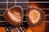 2 Coconut Guitar Picks + Fender Telecaster Stratocaster Neck Body Tele Strat ART
