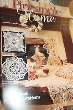 House White Birches Crochet Book 101068 Pineapple Home Doilies 10 patterns