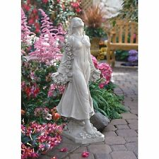 New listing Ky47018 - Flora: Divine Patroness of Gardens Statue - Antique Stone Finish.