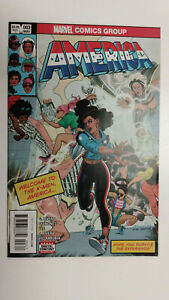 AMERICA #3  1st Printing - America Chavez                   / 2017 Marvel Comics