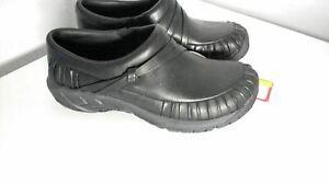 New MERRELL ENCORE PLEAT  Women's Black Leather Shoes Size 5 #82