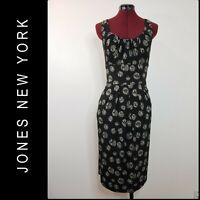 Jones New York Woman Elegant Casual Formal Career Sleeveless Dress Size 14