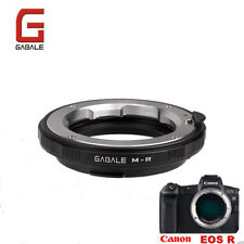 GABALE adapter for Leica LM Zeiss M VM mount lens to Canon EOS R RF mount camera