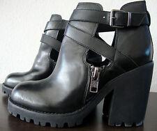 ASH Plateau Boots Damen Platform Stiefeletten Stiefel Leder Schuhe Gr.40 NEU