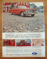 1964 Mercury Comet Ad 1963 Seattle Space Needle Ad
