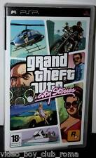 GTA GRAND THEFT AUTO VICE CITY STORIES GIOCO COME NUOVO PSP ED. ITA FR1 30426