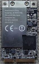 Apple Mac Pro 2006 2007 2008 1.1 to 3.1 WIFI Wireless card BCM94321MC 020-5335-A