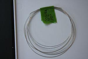 5 feet 22 gauge Sterling Silver Dead Soft Round wire!! L@@K SALE