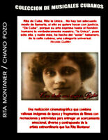 Cuban movie.Chano Pozo/Rita Montaner.Musical.Film.DVD.NUEVO.Peli.Cuba.Music.NEW,