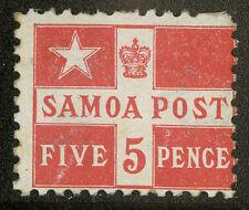 Samoa  1895   Scott #23a  MLH