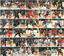1995-96 MCDONALDS PINNACLE HOCKEY COMPLETE 40 CARD SET LOT Roy Lemieux Jagr Bure