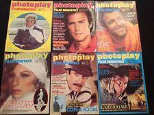 PHOTOPLAY MAGAZINES X 6 1975