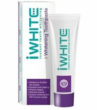 iWhite Instant Teeth Whitening Toothpaste Restores Enamel Prevents Staining 75ml