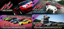 Assetto Corsa Game PC Steam Key Driving Simulator + Dream Pack 1, 2 and 3