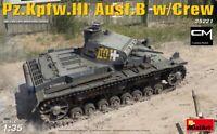 MiniArt 35221 Pz.Kpfw.III Ausf.B (Panzer III) w/ Crew 1/35 Scale Model Kit