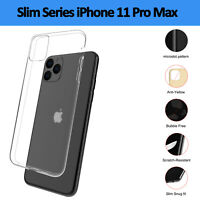 New Clear Gel Silicone Flexible TPU Slim Case Cover For Apple iPhone 11 Pro Max