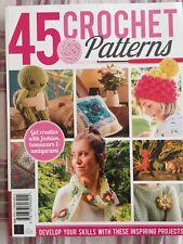 45 crochet patterns first edition (brand new magazine)