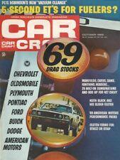 CAR CRAFT 1968 OCT - NEW '69 MUSCLE, HOT AMC PARTS