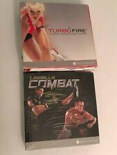 LES MILLS COMBAT - 5-Disc DVD Set - Beachbody - Fitness BRAND NEW SEALED +BONUS