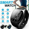For Android HTC Samsung iPhone iOS Mate Wrist Waterproof Bluetooth Smart Watch