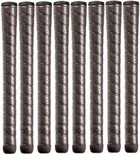 New 8 Winn Oversize Black Excel Wrap Golf Grips 7715W