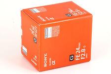 Objektiv Sony FE 24 mm 1:2,8 G SEL-24F28G, NEU + OVP