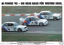 BMW E30 M3 DTM Motorsport cartel impresión # 10
