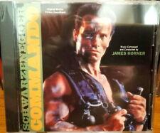 COMMANDO (1985) / James Horner / RARE LTD SOUNDTRACK CD SEALED!