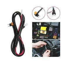 Daytime Running Light DRL Wiring Harness Kit For 7inch Halo Ring LED Headlight