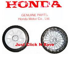 HONDA HRR216 HRR216PDA HRR216SDA Lawn Mower Set of 2 FRONT WHEELS Genuine OEM