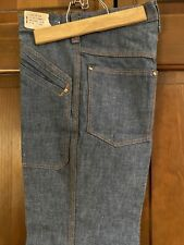 Vintage Demin Men's Pants Hippy Flare Bell Bottoms 28 X 31� With Orig Tag