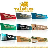 RIZLA KING SIZE Rolling Papers All Type Colours Tobacco Cigarette Filter Tips UK