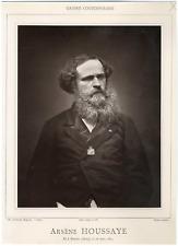 Galerie Contemporaine, Arsène Houssaye (1814 - 1896), est un homme de lettres fr