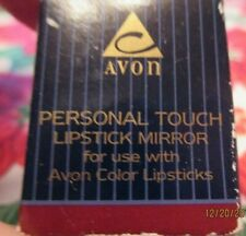 Avon Two Personal Touch Lipstick Mirrors*Nib*1995 Snaps Onto Avon Color Lipstick