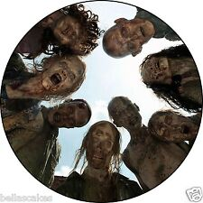 Tortenaufleger The Walking Dead Fototorte Eßbar DVD NEU Tortenbild Deko Zombie