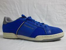 Reebok Size 11 M NPC Blue Grey Low Athletic Sneakers New Mens Shoes NWOB