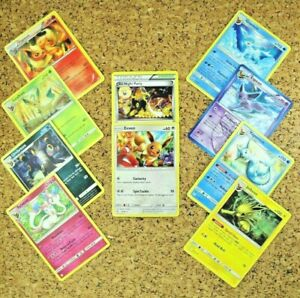 Pokemon card Eevee/'s Promo BW 8 pieces set Glaceon Umbreon Vaporeon and others
