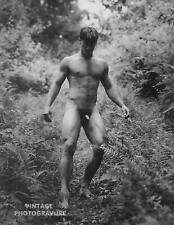 1990 Vintage BRUCE WEBER matted 14X11 Photo Gravure Young Male Nude Model ERIC