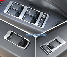 Matt Chrome Door Window Switch Button panel cover trim For jeep Patriot 09-2016