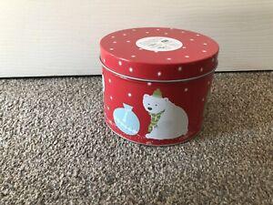 Brand New John Lewis Christmas Polar Bear Mug in Tin