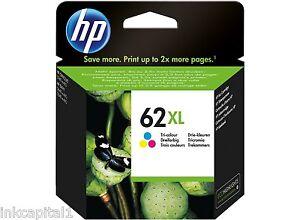 HP No 62XL Colour Original Inkjet Cartridge C2P07AE - 415 Pages High Capacity