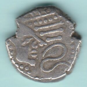 ANCIENT INDIA INDO SASSANIAN KING POTRAIT COIN