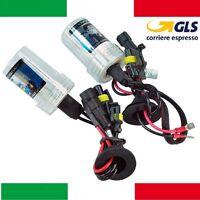 Coppia lampade bulbi kit XENO xenon H1 H4 H7 35w 55W 4300 5000K 6000K fari HID