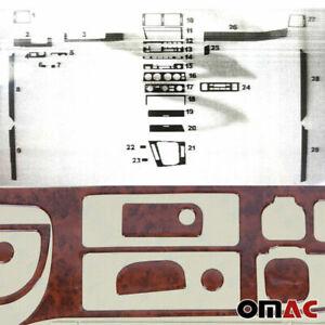 Innenraum Dekor Cockpit für BMW 3er E46 1998-2007 Blende Wurzelholz Optik 29 tlg