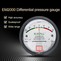 750 Pascal Vertical Scale Manometer Differential Sensitive Pressure Vacuum Gauge