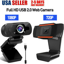 1080P Full HD Webcam USB 2.0 Web Camera with Microphone Video Calling Recording