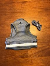 No Pull Dog Harness With Leash Gray XL