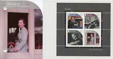 Gibraltar 2017 MNH House of Windsor Queen Elizabeth II 4v M/S Pres Pack Stamps