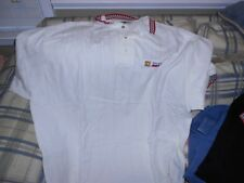 Square D Racing Kenny Wallace white golf shirt sz 2XL